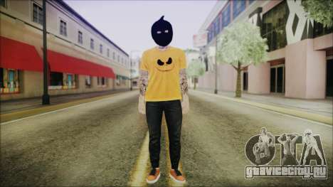 DLC Halloween GTA 5 Skin 3 для GTA San Andreas второй скриншот