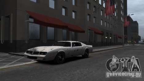 Classic Muscle Phoenix IV для GTA 4 вид сверху