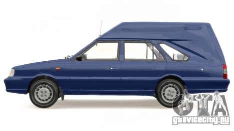 Daewoo-FSO Polonez Cargo Van Plus 1999 для GTA 4 вид сбоку