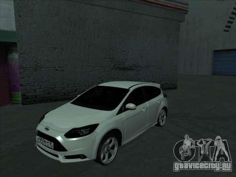 Ford Focus ST Усатый для GTA San Andreas