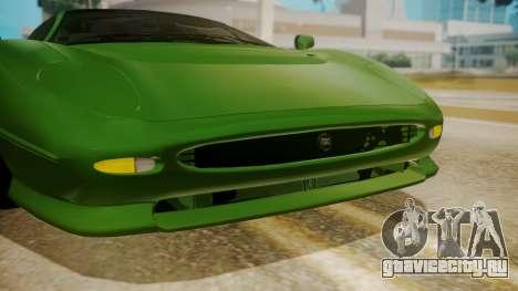 Jaguar XJ220 1992 IVF АПП для GTA San Andreas вид изнутри