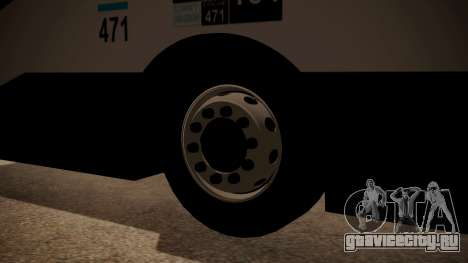 Todo Bus Agrale MT17.0LE AA для GTA San Andreas вид сзади слева