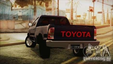 Toyota Hilux 2015 v2 для GTA San Andreas вид слева