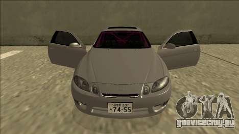 Lexus SC 300 Drift для GTA San Andreas вид сверху