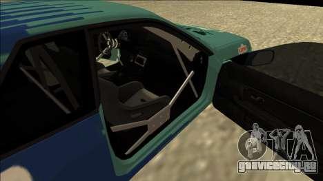 Nissan Skyline R32 Drift Falken для GTA San Andreas вид сзади