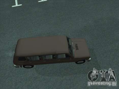 ВАЗ 2131 Семидверная для GTA San Andreas вид сзади слева