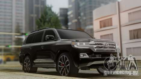 Toyota Land Cruiser 2016 для GTA San Andreas
