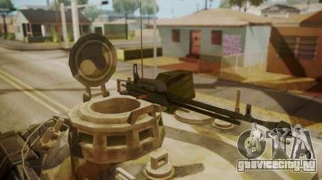 AMX 30 from Mercenaries 2 World in Flames для GTA San Andreas вид сзади