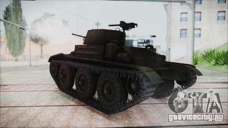 T7 Combat Car для GTA San Andreas вид слева