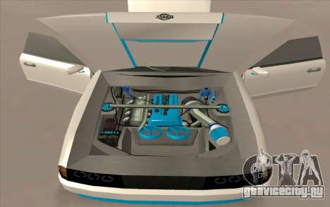 Elegy DRIFT KING GT-1 для GTA San Andreas вид снизу