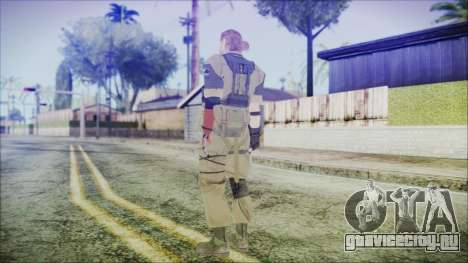 MGSV Phantom Pain Snake Normal Olive Drab для GTA San Andreas третий скриншот