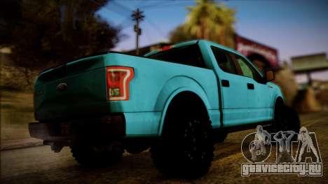 Ford F-150 4x4 2015 для GTA San Andreas вид слева