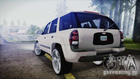 Chevrolet Triblazer для GTA San Andreas вид слева