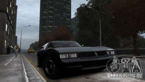 Classic Muscle Phoenix IV для GTA 4 вид слева