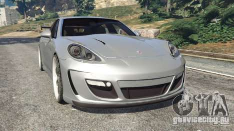 Porsche Panamera Turbo 2010 для GTA 5