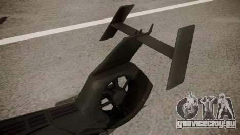 AH-99 Blackfoot для GTA San Andreas вид сзади слева