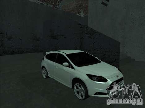 Ford Focus ST Усатый для GTA San Andreas вид сзади