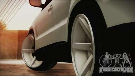 Volkswagen Tiguan Vossen Edition для GTA San Andreas вид сзади слева
