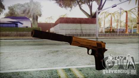 Original Colt 45 Silenced HD для GTA San Andreas второй скриншот