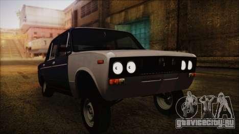 ВАЗ 2106 Хулиган Azeri Style для GTA San Andreas
