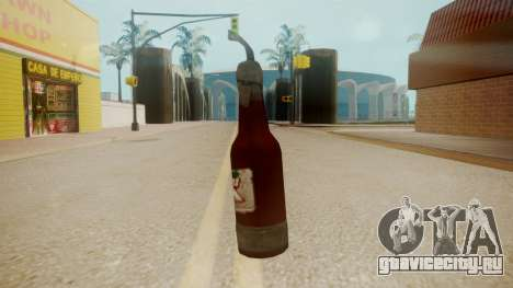 GTA 5 Molotov Cocktail для GTA San Andreas второй скриншот