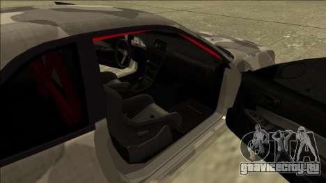 Nissan Skyline R34 Army Drift для GTA San Andreas вид сзади