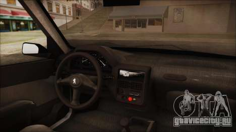 Peugeot 106 для GTA San Andreas вид справа