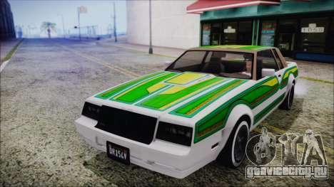 GTA 5 Willard Faction Custom without Extra IVF для GTA San Andreas вид изнутри