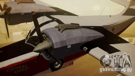 Grumman G-21 Goose NC327 Cutter Goose для GTA San Andreas вид справа