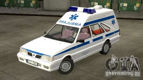 Daewoo FSO Polonez 1999 - Скорая помощь для GTA 4