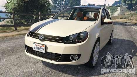 Volkswagen Golf Mk6 v2.0 [Stripes] для GTA 5