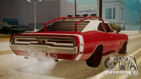 Dodge Charger O Death RT 1969 для GTA San Andreas вид слева