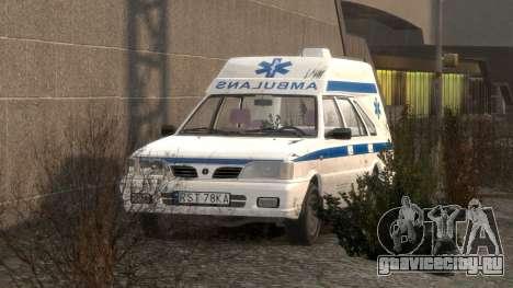 Daewoo FSO Polonez 1999 - Скорая помощь для GTA 4 салон