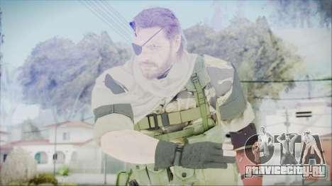 MGSV Phantom Pain Snake Scarf Tiger для GTA San Andreas