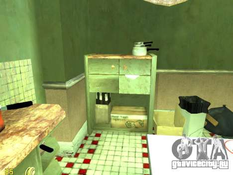 Квартира из GTA IV для GTA San Andreas девятый скриншот