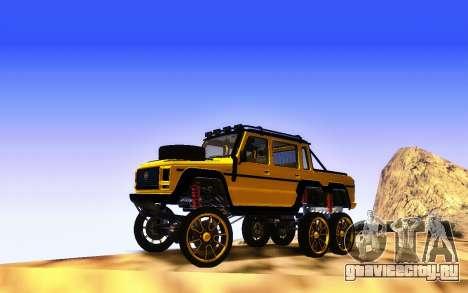 Благодетель Dubsta 6х6 пользовательские настройк для GTA San Andreas