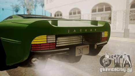 Jaguar XJ220 1992 IVF АПП для GTA San Andreas вид сверху
