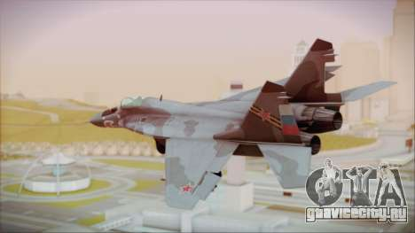 Mikoyan-Gurevich MIG-29A Russian Air Force для GTA San Andreas вид слева