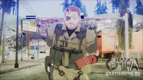 MGSV Phantom Pain Snake Normal Olive Drab для GTA San Andreas