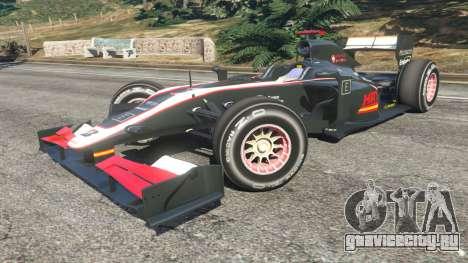 Hispania F110 (HRT F110) v1.1 для GTA 5 вид справа