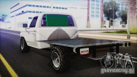 Ford F-150 Con Sonido для GTA San Andreas вид слева