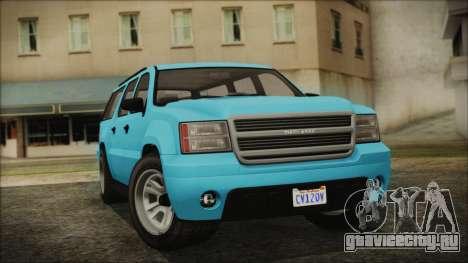GTA 5 Declasse Granger Civilian для GTA San Andreas