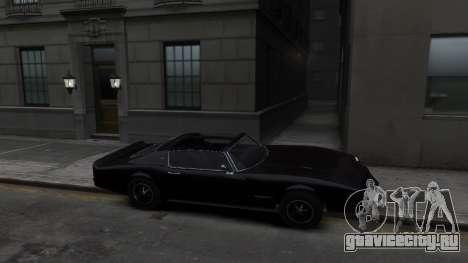 Classic Muscle Phoenix IV для GTA 4 вид сзади