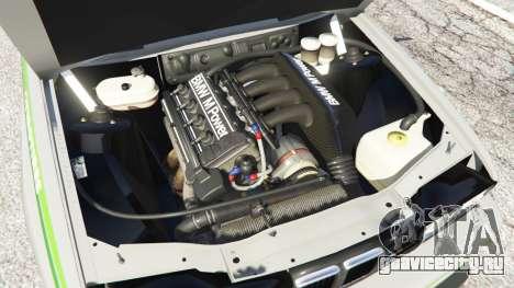 BMW M3 (E30) 1991 [Honoris] v1.2 для GTA 5 вид сзади справа