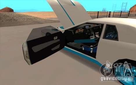 Elegy DRIFT KING GT-1 для GTA San Andreas двигатель