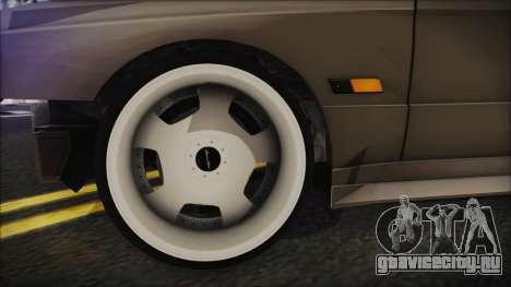 BMW M3 E30 Camber для GTA San Andreas вид сзади слева