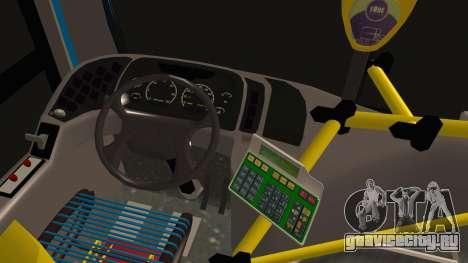 Mercedes-Benz OH1315LSB Metalpar Tronador для GTA San Andreas вид сзади слева