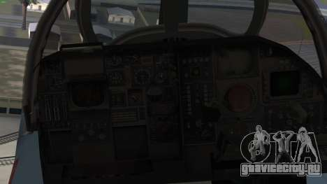 Northrop Grumman EA-6B Prowler VAQ-129 для GTA San Andreas вид справа