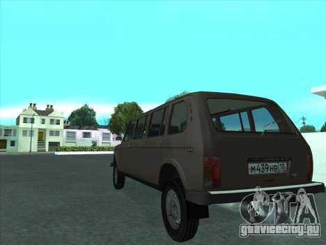 ВАЗ 2131 Семидверная для GTA San Andreas вид справа
