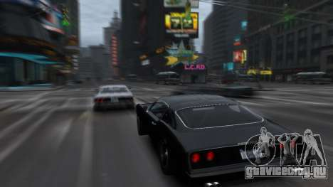 Classic Muscle Phoenix IV для GTA 4 вид сзади слева